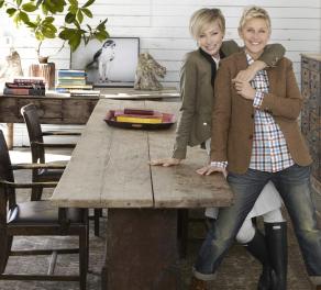 Ellen DeGeneres & Portia de Rossi2