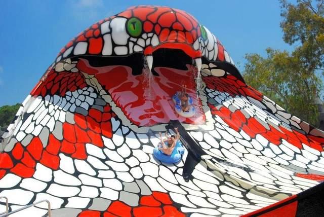 king cobra water slide
