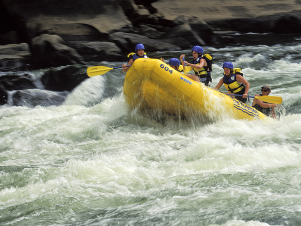 West Virginia, New River, Whitewater Rafting. (Photo by Education Images/UIG via Getty Images)