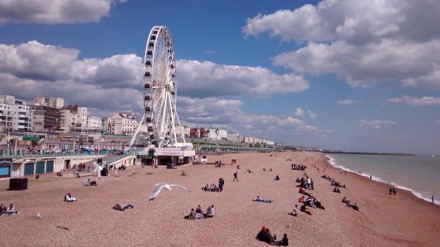 Brighton Pier England Sea Beach Uk Brighton Eye