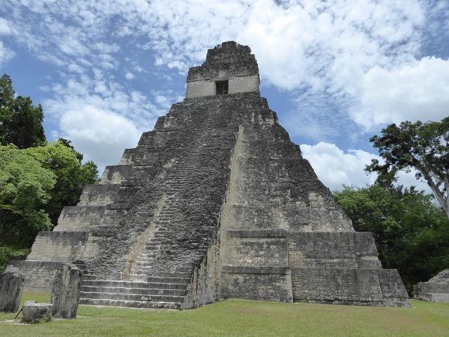 Pyramid Tikal Maya Guatemala