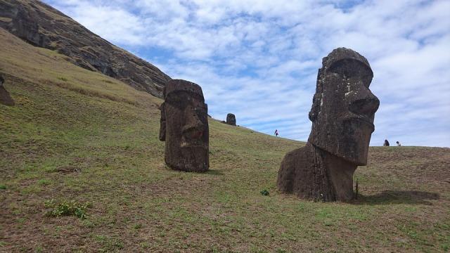Moai Easter Island Moai Statues
