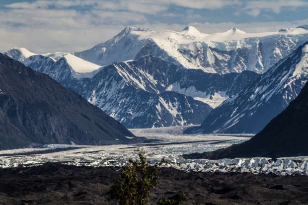 MATANUSKA GLACIER, ALASKA, USA