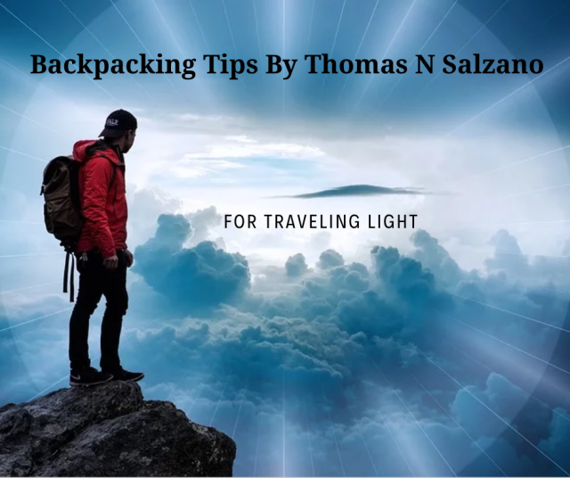 backpacking tips for traveling light