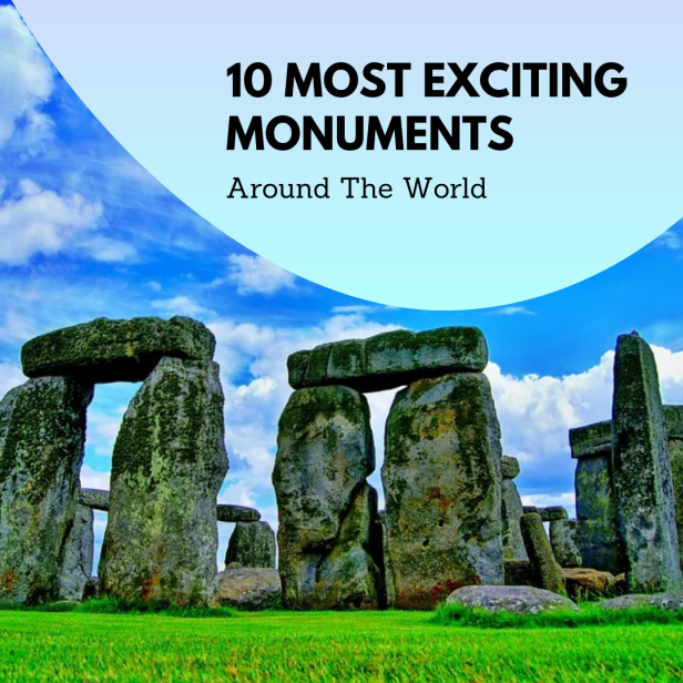 exciting monuments the world